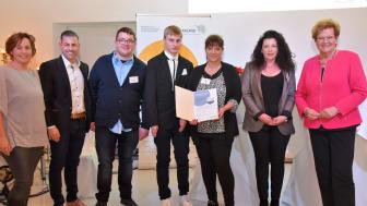 Franchisepartner Tim und Daniela Lorenz erhalten Inklusionspreis der saarländischen Regierung