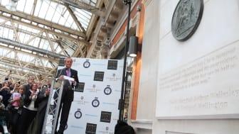 «Norsk» Waterloo-minnesmerke avduket i London i dag