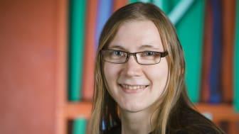 Mirva Niinipuu, doktorand på Kemiska institutionen och Företagsforskarskolan vid Umeå universitet.