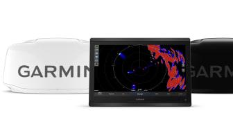 Garmins nya marina radomradar är de första som finns tillgängliga i både svart och vitt