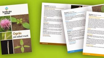 I boken Ogräs på odlad mark finns hjälp att få med att identifiera 81 olika ogräs i ett tidigt stadium.