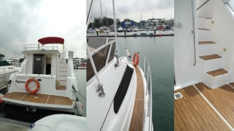 First Yacht Decking in Singapore That Uses Accoya® Timber
