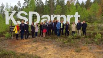 Halva Finland på besök