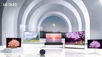 LG stärker sin branschledande position inom tv med ny teknik och ännu fler storlekar