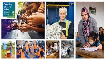 2014 Creating Shared Value Global Forum – 9 oktober - Förändring av företagens roll i samhället
