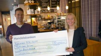 Löfbergs honung gav 10 000 kronor till Julänglarna
