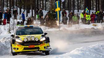 Johan Holmberg Team Märsta Förenade under Svenska Rallyt 2018_morgon 16/2