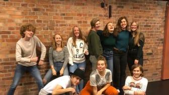 Kulturhuset Barbackas gymnasiegrupp