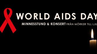 Världsaidsdagen - Minnesstund och Konsert