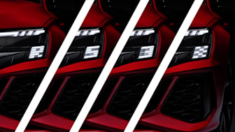 Audi RS 3 med Matrix LED-forlygter
