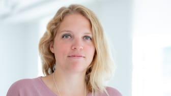 Anne Graf, ordförande Stiftelsen Konsthall Tornedalen. Foto: Mat Richardson