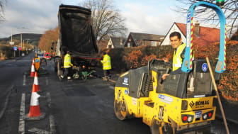 Continuing to improve the borough's roads