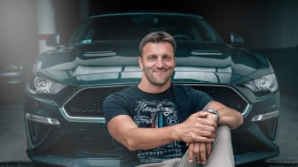 Kiss Gergely és a Ford Mustang Bullitt