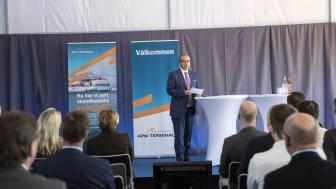 APM Terminals Gothenburg vd Henrik Kristensen