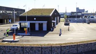 Norra Hamnens återvinningscentral i Malmö.