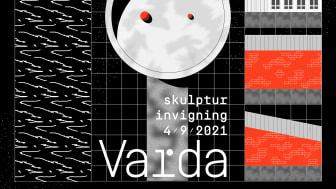 Fira i rymdens tecken när skulpturen Varda invigs i Uddevalla