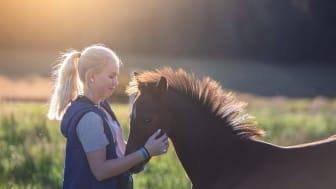 I fokus för samarbetet mellan Sveland Djurförsäkringar och ASRP, ligger att verka för fler hållbara ridponnyer på tävlingsbanorna. Foto: Sveland Djurförsäkringar
