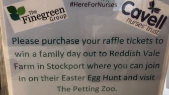 Enter now - Finegreen Easter Raffle supporting Cavell Nurses' Trust