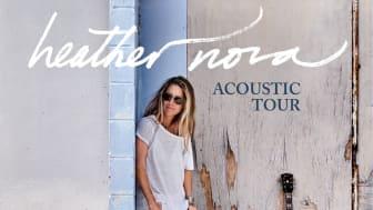 Den karismastiske sanger og sangskriver Heather Nova besøger Aarhus og Kbh. med en akustisk koncert til efteråret.