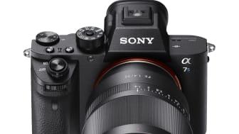 Ny firmware oppdatering for a7 II fullformat kamera