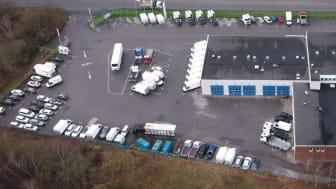 Nordic Truckcenter på Arlövsvägen 23, Arlöv.