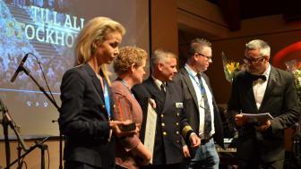 Stockholmarna får bragdpris i Security Awards