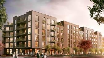 Pressinbjudan: Byggstart för 78 bostadsrätter i Brf Cortado i Hyllie, Malmö