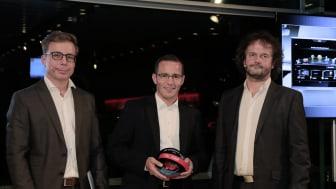"Marcus Keith ved ""Car Connectivity Award 2016"""