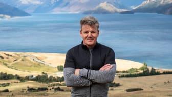 "Gordon Ramsay i New Zealand under optagelserne af ""Gordon Ramsay: På fremmed grund"" (Foto: Jon Kroll)"