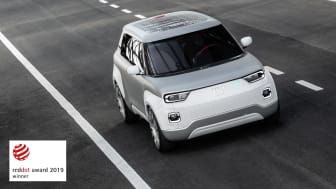 Fiat Concept Centoventi, vinder af Red Dot Award 2019.