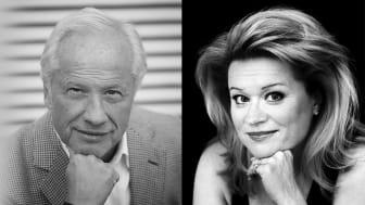 Loa Falkman och Hillevi Martinpelto