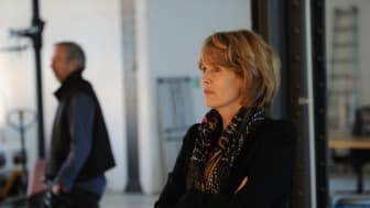 """Christa Maar beim Shooting der Kampagne """"Liebe"""""""