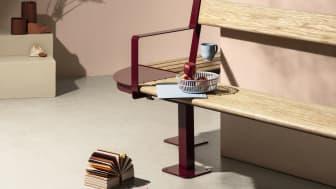 High bench, design Mats Aldén