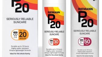 P20-aurinkosuojatuotteilla tinkimätön suoja auringon säteilyä vastaan