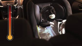 Každoročně dochází k desítkám úmrtí dětí a domácích mazlíčků zavřených v automobilu.