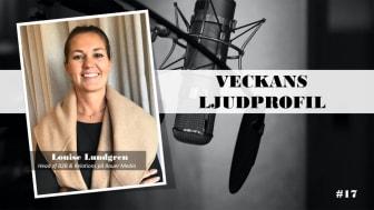 Veckans ljudprofil - Louise Lundgren