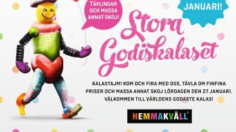 Hemmakväll har Sveriges bästa lösgodis – nu vill vi bli bäst på kundupplevelse också