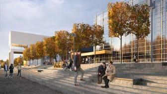 Pressinbjudan: Byggstart för världens modernaste musikhögskola
