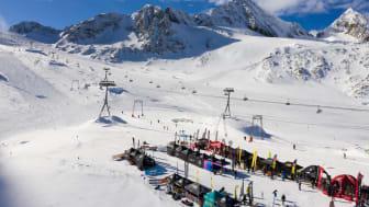 Das 31. SportScheck GletscherTestival bei besten Wetter-Bedingungen.