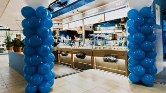 Waynes nya kafé i Cityarkaden i Nyköping