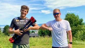 Klæbo forlenger med IDT: - Har skapt en ny generasjon rulleskiløpere