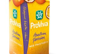 Premiär för nya juicigare ProViva fruktdrycker