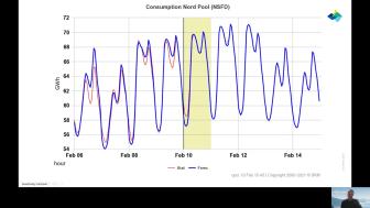 Vinterens høyeste strømpriser // Entelios kraftkommentar uke 6. 2021