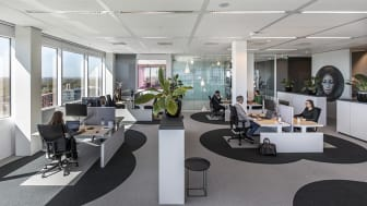 """""""6 Feet Office"""" handlar om att erbjuda ett koncept för att kunna göra en övergripande analys över befintliga lokaler och att identifiera förbättringspunkter för en säker återgång till kontoret."""