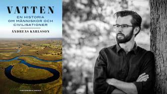 Mänsklighetens relation till vatten utforskas och tillgängliggörs i ny reportagebok