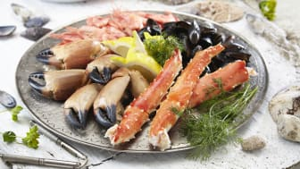 Reduced exports of shellfish in 2017