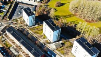 Riksbyggen dubbelt nominerade till Solenergipriset 2021