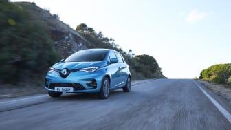 Renault førende med elbiler i Europa