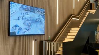 Procon Digitala Skyltar med programvara för innehållhantering och styrning av skärmarna