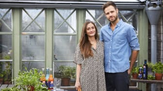 David Frenkiel och Luise Vindahl från Green Kitchen Stories (Foto: Fredrik Persson)